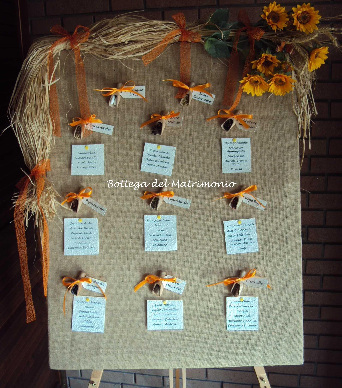 Matrimonio Tema Juta : Juta e girasoli